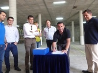La Nucia Almacen Planta Potab inicio obras 2 junio 2017