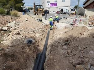 Esta actuación conectará al Polígono con la red de abastecimiento del Depósito Rambla de La Nucía