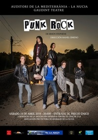 La Nucia Cartel Punk Rock Teatre 2018