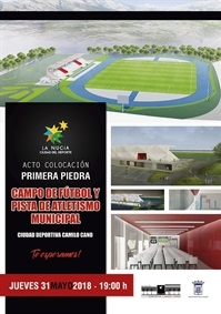 La Nucia Cartel Estadio Atletismo 2018