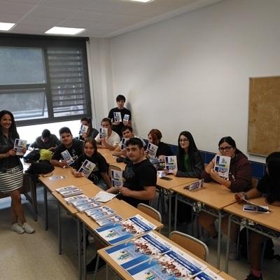 """Presentación del """"Voluntariado Social""""  a los """"corresponsales juveniles"""" del Instituto"""