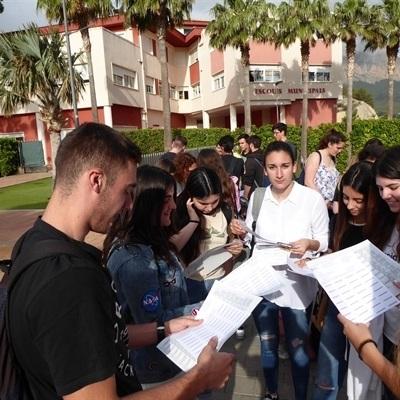 """El Instituto de La Nucía entre los """"mejores centros"""" en la Selectividad 2018"""