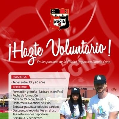 Convenio entre el Voluntariado La Nucía y el Club de Fútbol