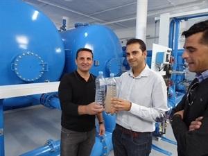 La planta potabilizadora ha acabado con los problema de turbidez en el agua potable de La Nucía