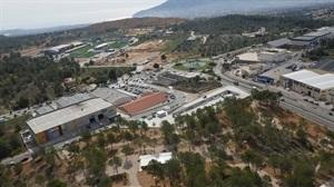 Imagen aérea del Polígono Industrial l'Alberca