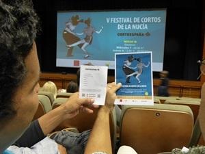 Ayer miércoles se celebró al primera sesión del V Festival de Cortos de La Nucía