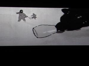 """El cortometraje """"Nuestro viejo (y el mar)"""" mezclaba animación y rodaje"""