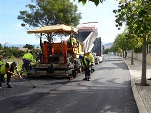 Las obras de reasfaltado eran necesarias por el deterioro de los viales