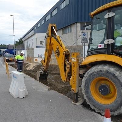 La próxima semana se instalarán los hidrantes anti-incendios en el Polígono Industrial