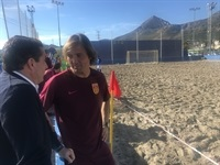 La Nucia China futbol playa 1 2018