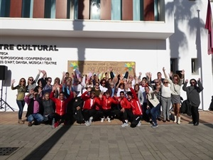 Todos losp articipantes del Día Internacional del Voluntariado