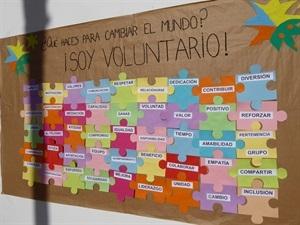 El mural permanecerá en la pared de l'Auditori durante todo el fin de semana