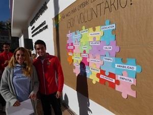 El acto era un reconocimiento a los 96 voluntarios sociales de La Nucía