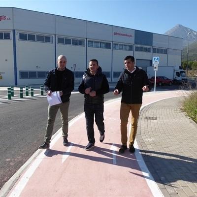 Finalizan las obras de modernización del Polígono Industrial