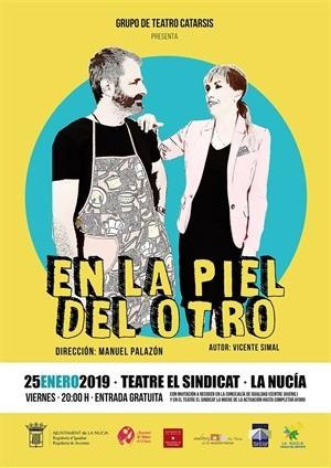 La Nucia Cartel Teatro Piel Otro 2019