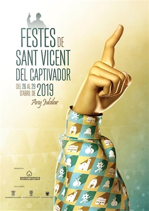 La Nucia Cartel  Sant Vicent 2019